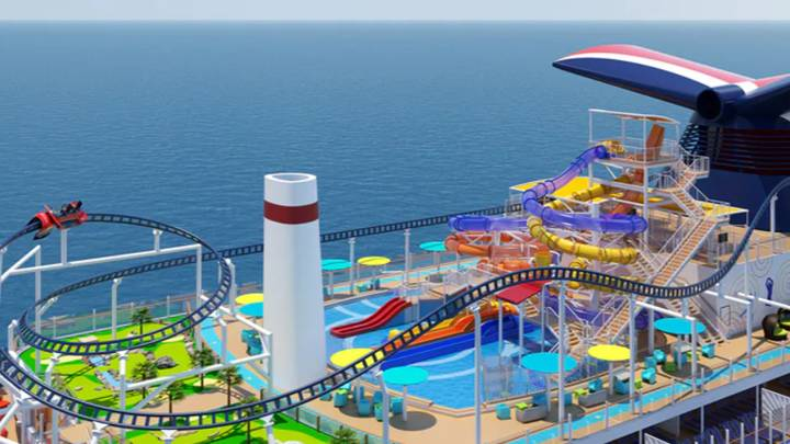 This New Cruise Ship Will Have A Roller Coaster On Board