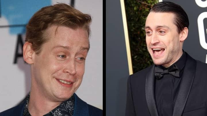 Macaulay Culkin Jokes About His Brother Kieran At The Golden Globes