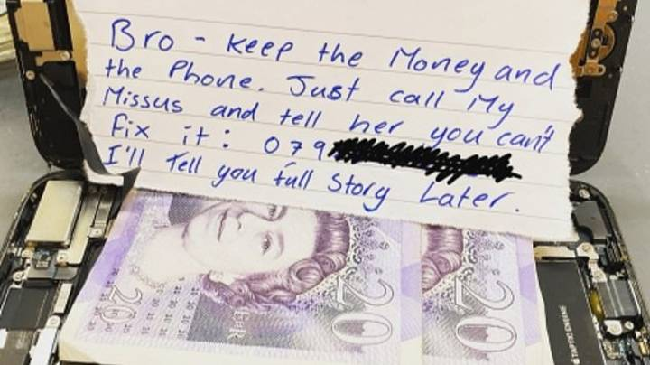 Phone Repair Man Paid £40 Cash To Not Fix Someone's Mobile