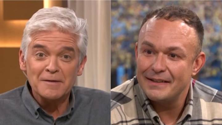 Phillip Schofield Can't Stop Laughing As Man On 'This Morning' Discusses What It's Like To Get Penis Fillers