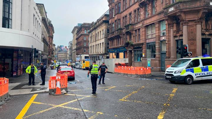 Police Confirm Six Injured And Suspect Shot Dead After Glasgow 'Stabbing'