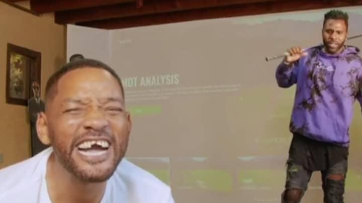 Jason Derulo 'Knocks Out' Will Smith's Teeth With Golf Club