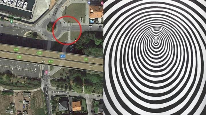Google Street View Creates Trippy Optical Illusion