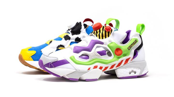 Reebok Creates Toy Story Trainers That Look Like Woody And Buzz