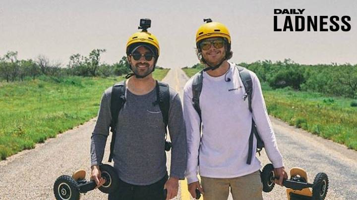 LADs Broke Guinness World Record Travelling Across Texas On Electric Skateboards For Charity