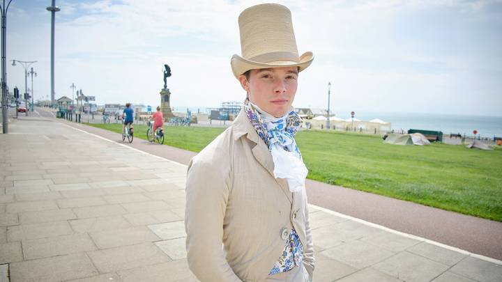 Man Identifies As Being From The 1820s And Only Dresses That Way