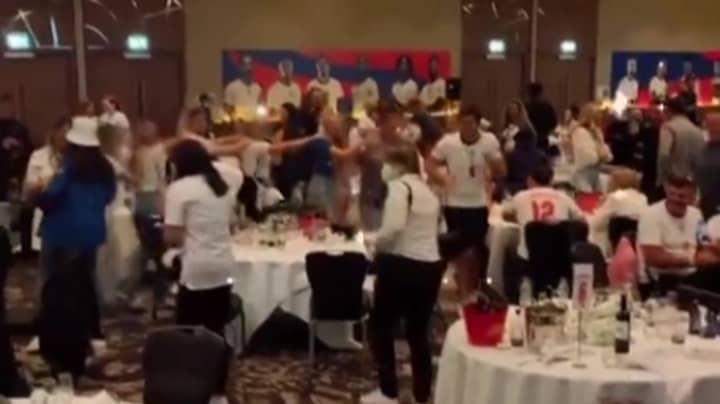 Photos Show Inside England Team's Post-Match Euro 2020 Party