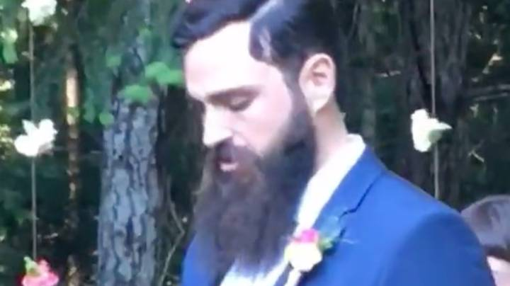 Groom Checks Phone As Bride Walks Down The Aisle Because 'Crypto Never Sleeps'