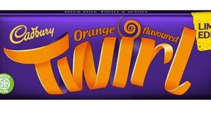Cadbury Is Bringing Back Its Limited Edition Orange Twirl