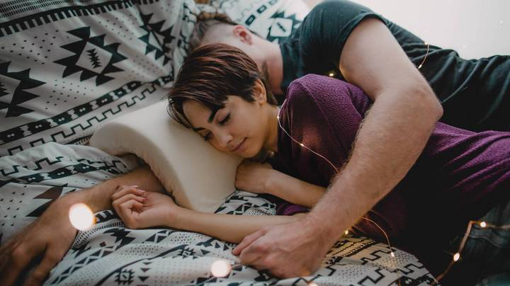 There's Now A Pillow That Makes Spooning Really Comfortable
