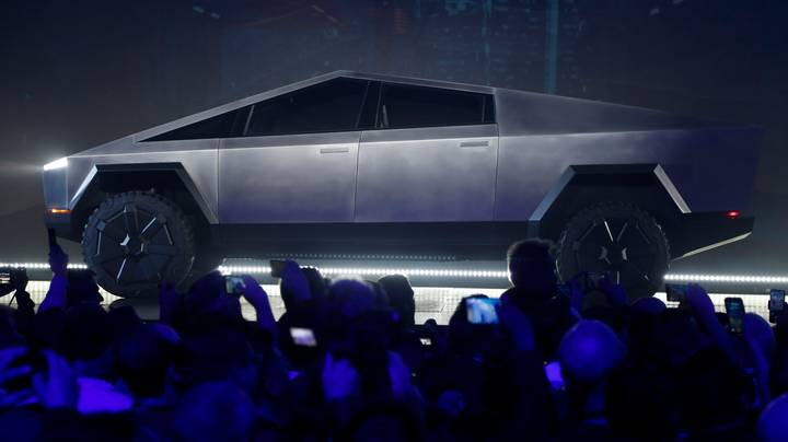 Elon Musk's Tesla Has Unveiled A Pickup Truck Inspired By James Bond