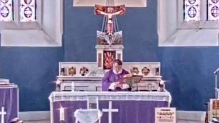Priest Accidentally Plays Rap Music During Live Stream Mass