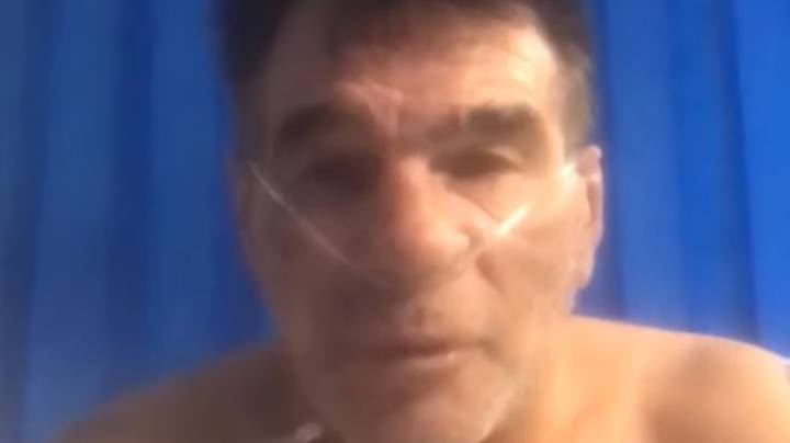 Paddy Doherty Tells People To Take Covid Seriously From Hospital Bed