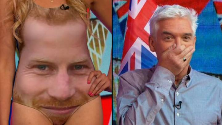 'This Morning' Viewers In Hysterics Over Prince Harry's Beard On Swimsuit