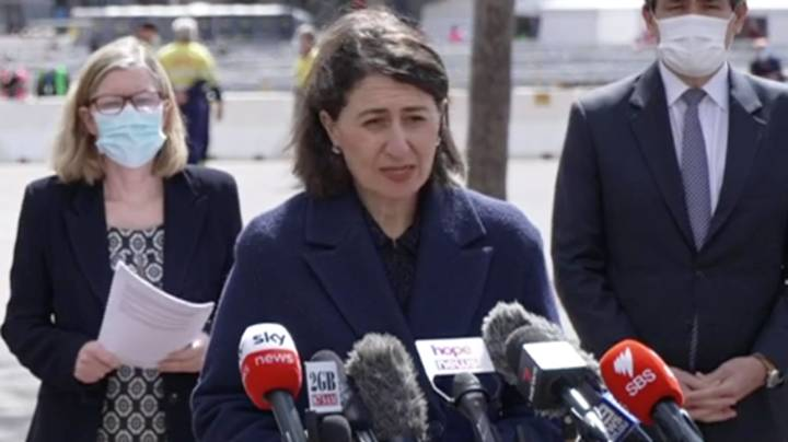 NSW Premier Warns Unvaccinated People Won't Have The Same Freedoms