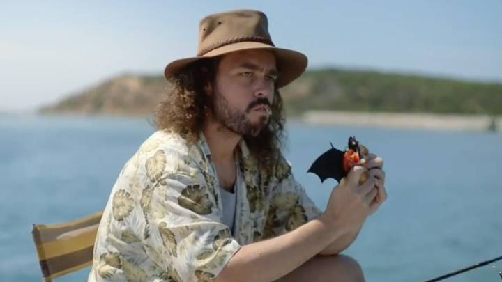 Aussie Retailer BCF Criticised Over New Ad Showing Man Eating A Bat