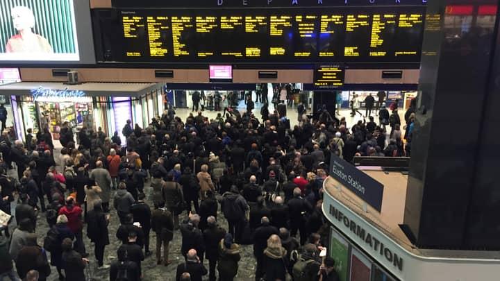 London's Euston Station Will Be Transformed Into Homeless Shelter For Christmas