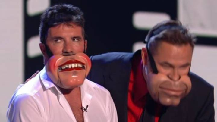 Simon Cowell 'Storms Off' Stage After Being Forced To Take Part In 'Awkward' BGT Act