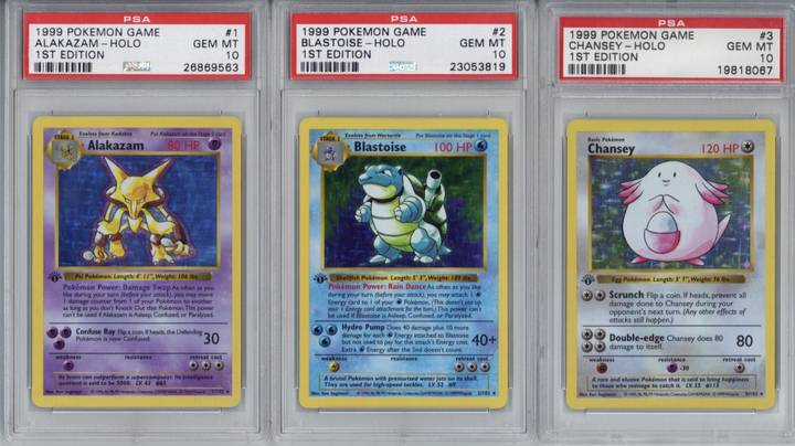This Complete 1999 Pokémon Card Collection Sold For More Than $150,000 At Auction