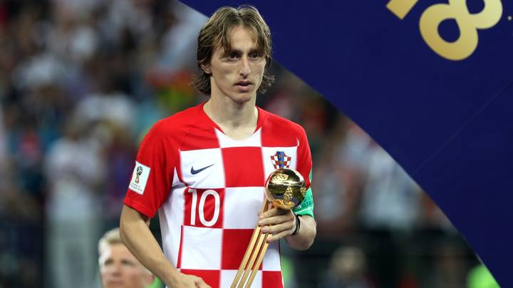 Luka Modric Wins World Cup Golden Ball Award And His Journey To The Final Is Amazing
