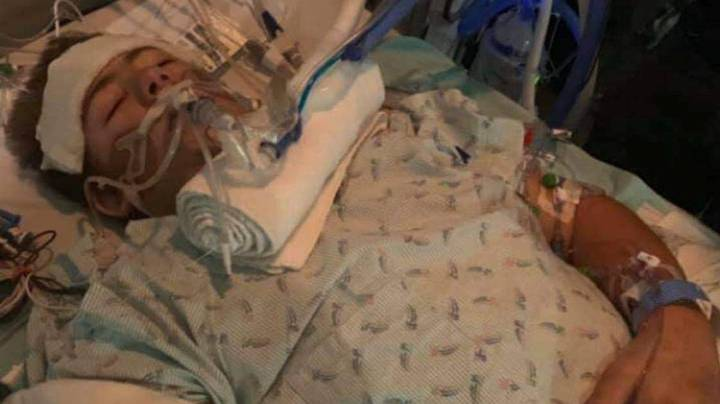 Teenager Chooses To Amputate Bottom Half Of Body To Save His Life