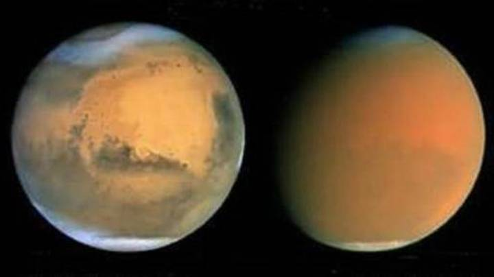 Mars Is Making Its Closest Approach To Earth In 15 Years Right Now