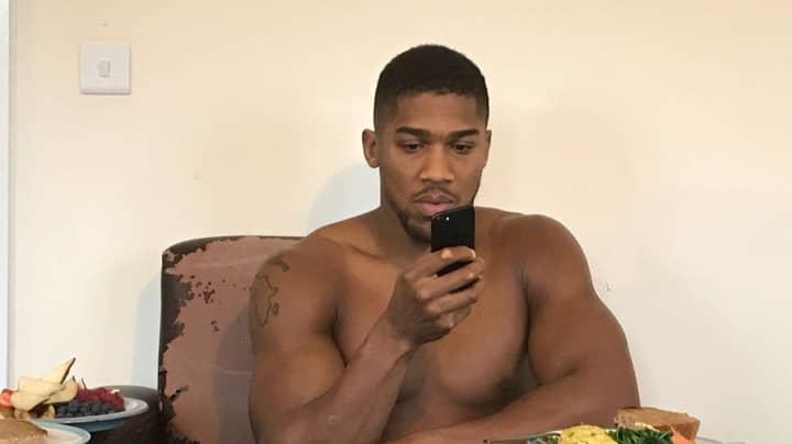 Anthony Joshua Says Tyson Fury Randomly Calls Him To Say He Will 'Knock Him Out'
