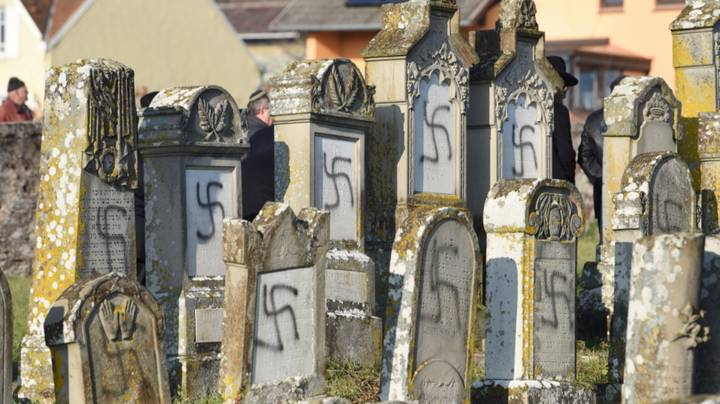 More Than 100 Jewish Graves Defaced With Swastikas In French Cemetery