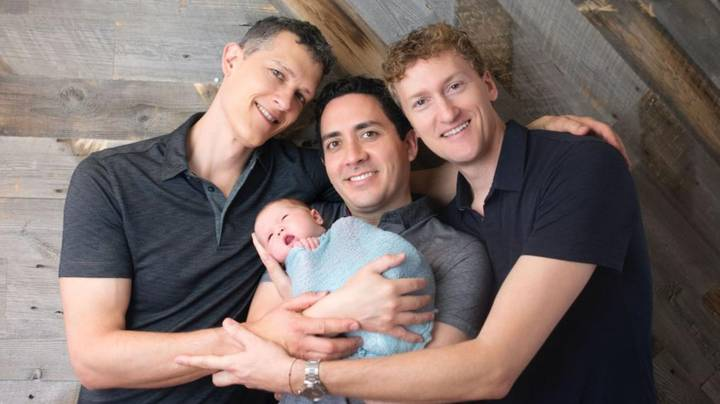 Men Become First Throuple To Have Three Dads Legally Put On Child's Birth Certificate