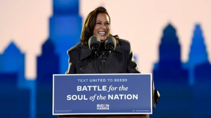 Kamala Harris Becomes Highest Ranking Female US Official Ever