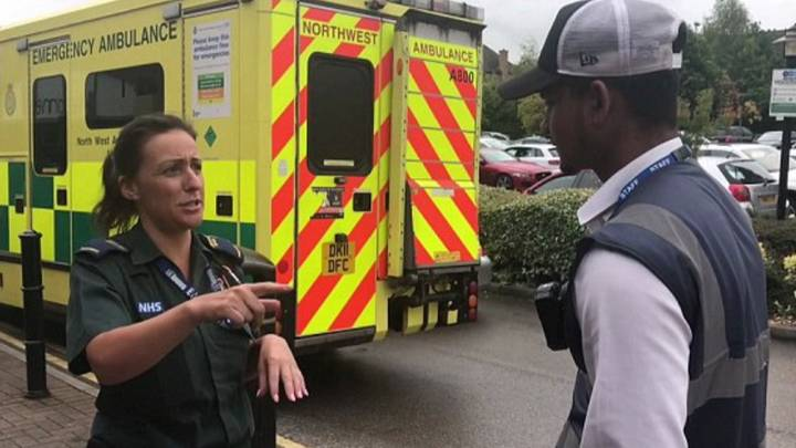 Ambulance Given Parking Ticket As Paramedics Stop For Water During Long Shift