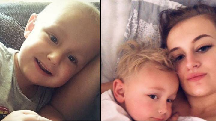 Boy, 5, With Cancer Apologises To Mum Before Dying In Her Arms