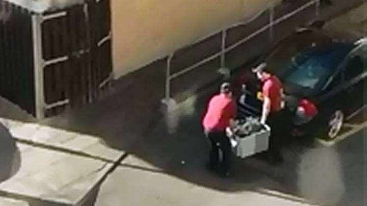 KFC Staff Caught 'Smuggling Chicken' Into Restaurant After Delivery Issue Closes Branches