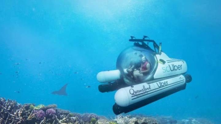 You Can Now Uber A Submarine On The Great Barrier Reef