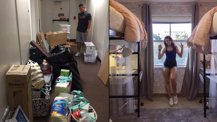 Students Completely Transform Dorm To Make Time At Uni Luxurious