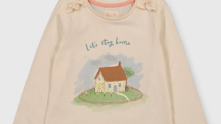 Sainsbury's Faces Backlash For Selling Girls' 'Lets Stay Home' T-Shirt