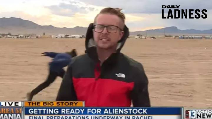 Meet The YouTuber Who Claimed To Naruto Run Past Cameras At Area 51
