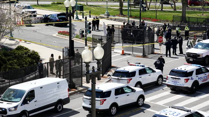 US Capitol Under Lockdown After Car Rammed Into Police Officers