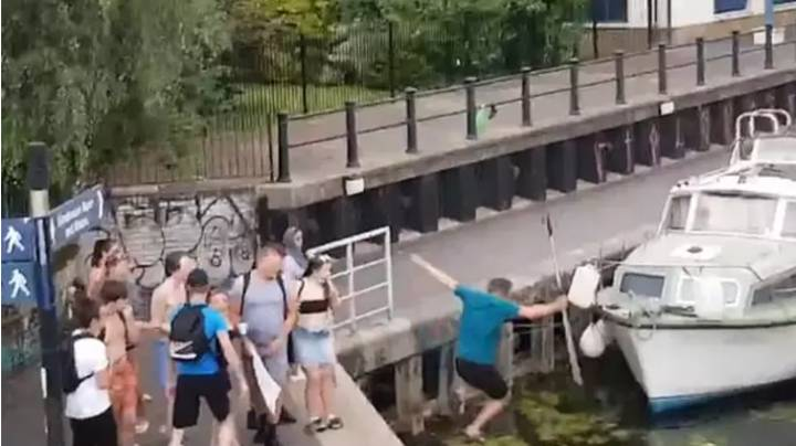 Man Shoved Into Canal Slams 'Cowards' Who Attacked Swans