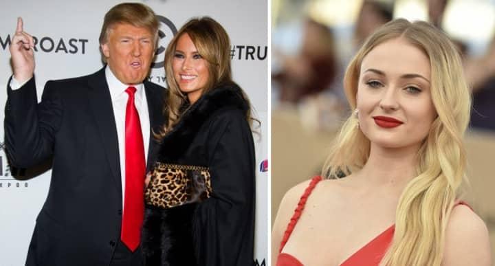 Sansa Stark Savagely Burns Donald And Melania Trump On Twitter