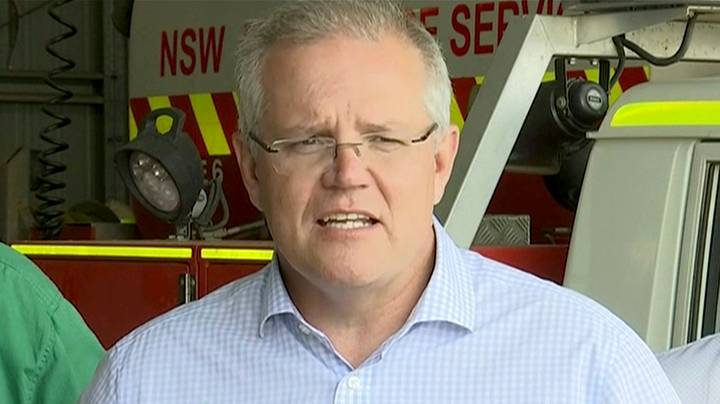 Scott Morrison's New Year's Message Has Left A Lot Of People Angry