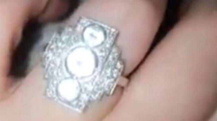 Woman's Engagement Ring Compared To 'Shiny Lego'