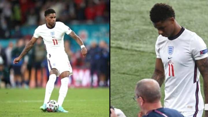 Marcus Rashford Apologises For Missing Penalty After England's Euro 2020 Defeat