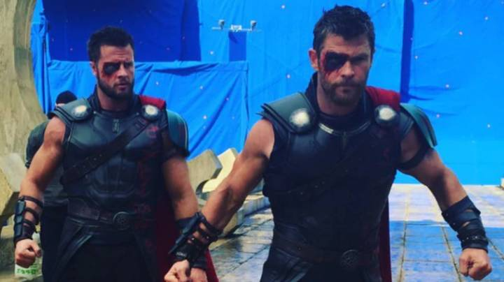 Chris Hemsworth's Body Double Says Keeping Up With Actor's Size Is Harder Than Ever