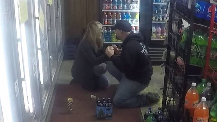 Man Sets Up Fake Armed Robbery To Propose To His Girlfriend