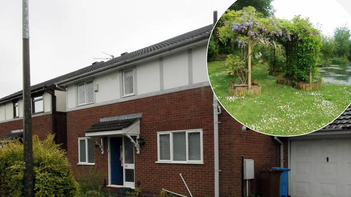Ordinary Looking House Hides Magical Secret Garden On Other Side