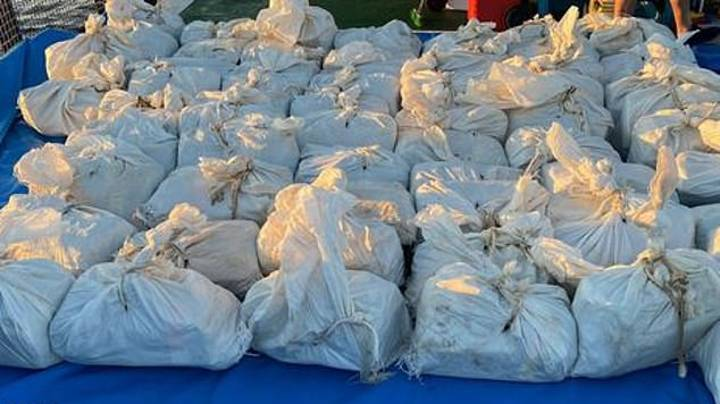 Three British Men Arrested After £80 Million Of Cocaine Seized In Mid-Atlantic Bust