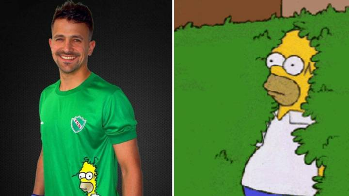 Argentine Fourth Division Team's New Away Kit Includes Homer Meme