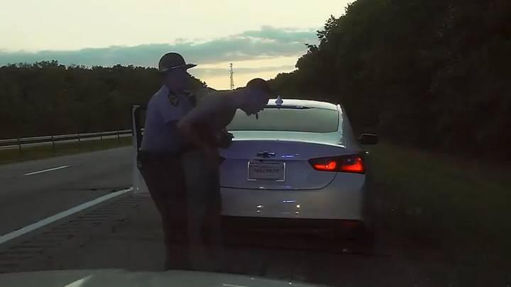 Man Saved By Cop After Choking While Trying To Swallow Bag Of Weed