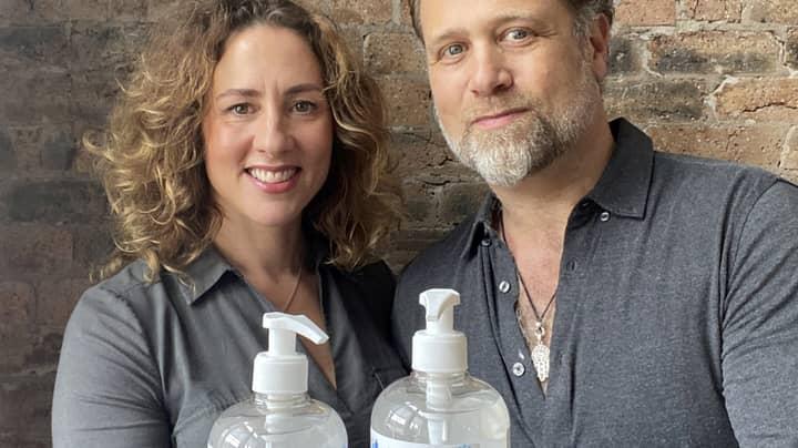 Brit Couple Who Set Up Hand Sanitiser Firm Just 12 Weeks Ago Set To Make £30 Million